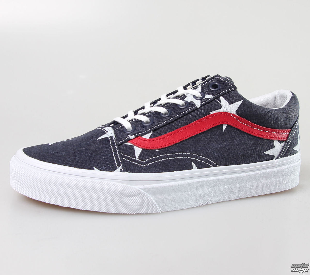 boty VANS - OLD SKOOL (Stars Stripe) - True - White - VZDFFL9
