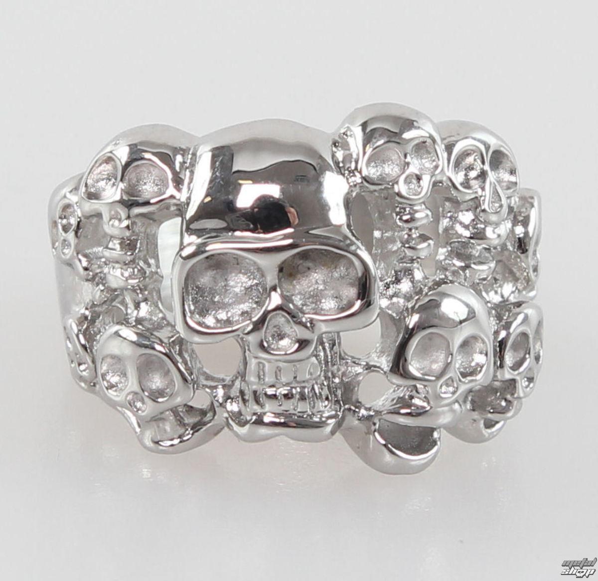 prsten Skulls - NS035