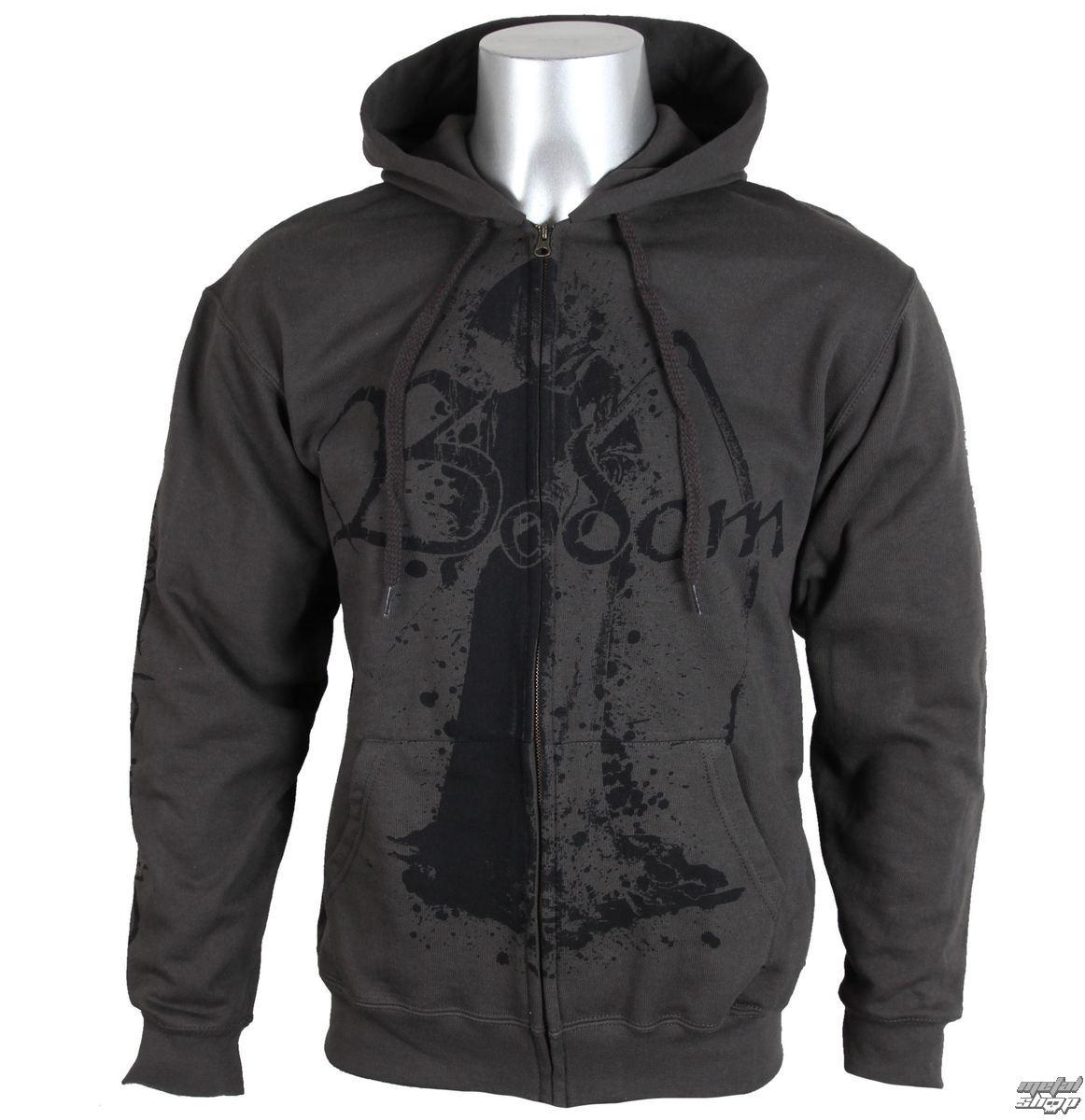 mikina pánská Children Of Bodom - Bodom - Grey - NUCLEAR BLAST - 23811
