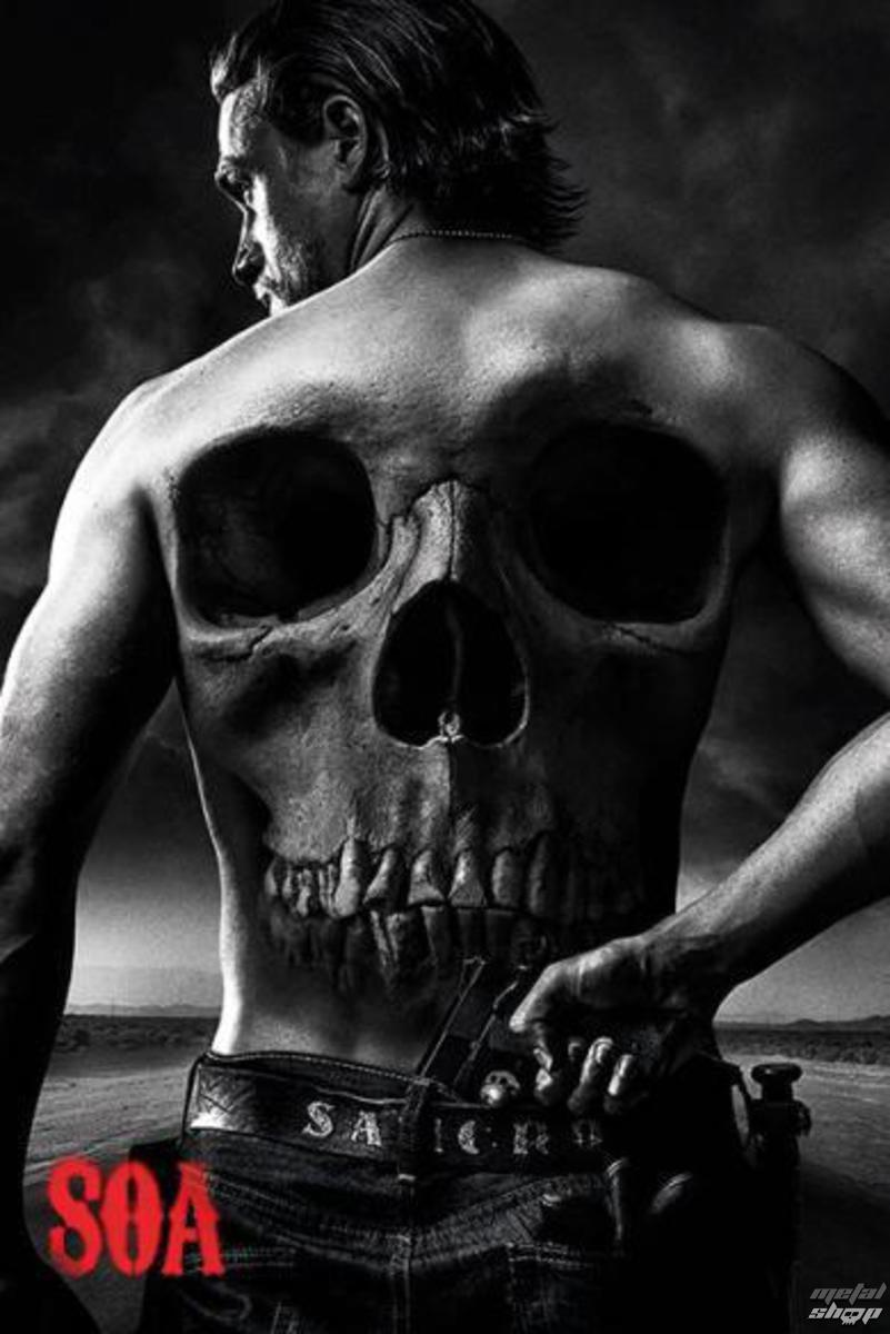 plakát Sons Of Anarchy - Skull - PYRAMID POSTERS