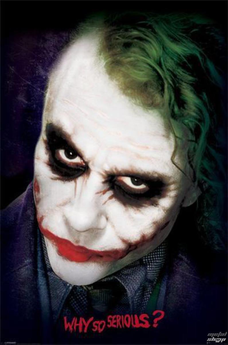 plakát Batman - The Dark Night - Joker Face - PYRAMID POSTERS - PP33471