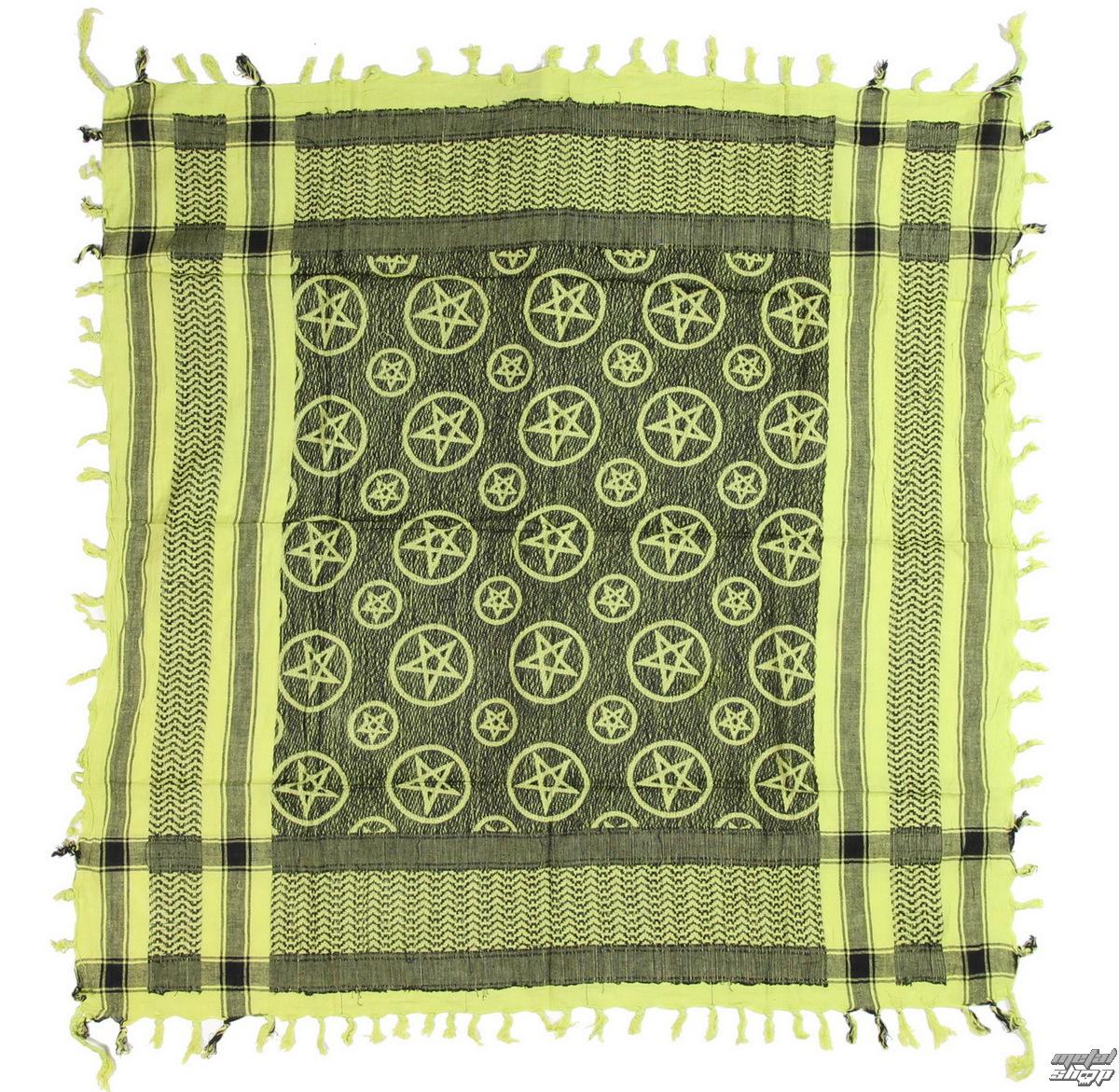 šátek ARAFAT - palestina - PENTAGRAM - APPLE GREEN - metalshop.cz 800796c44f