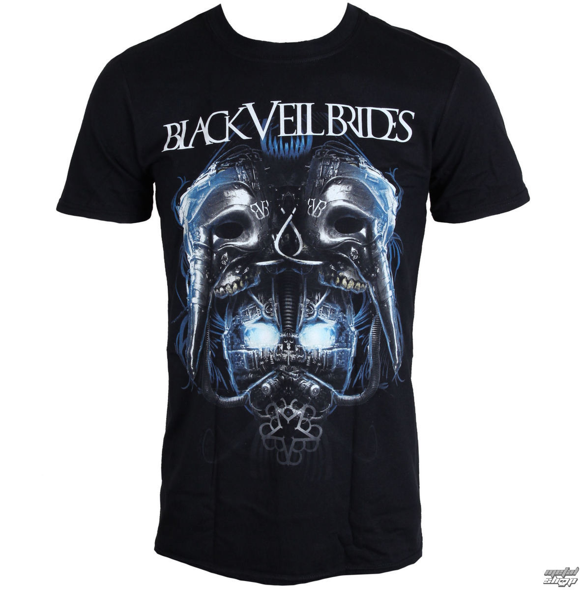 tričko metal LIVE NATION Black Veil Brides Metal Mask černá S
