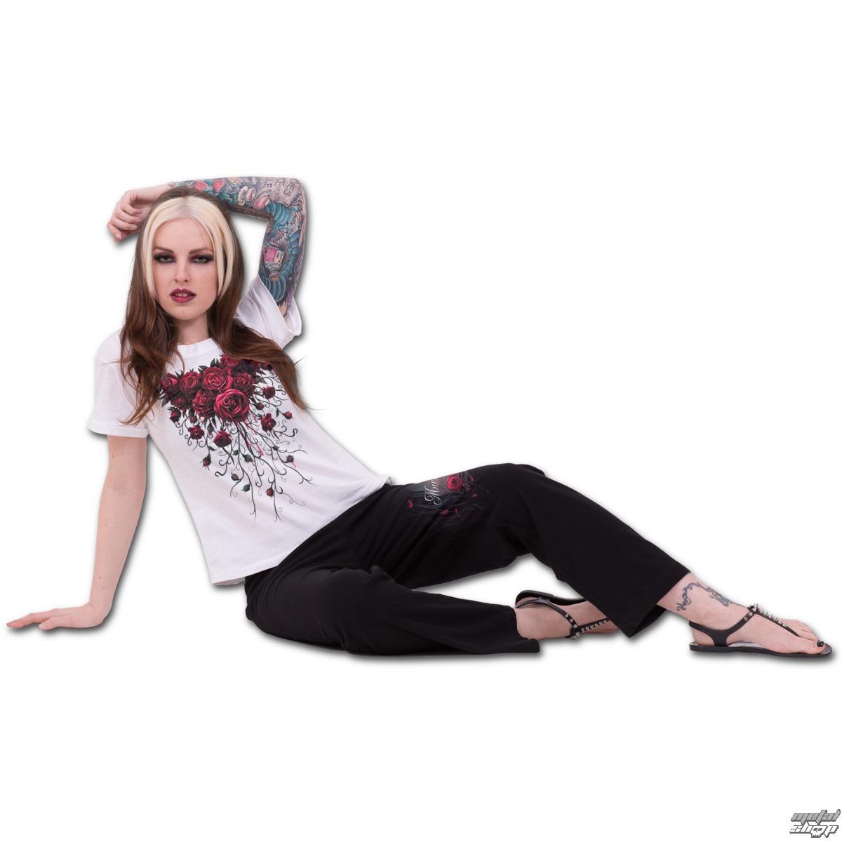 komplet na spaní dámský (pyžamo) SPIRAL - Blood Rose - K018G601