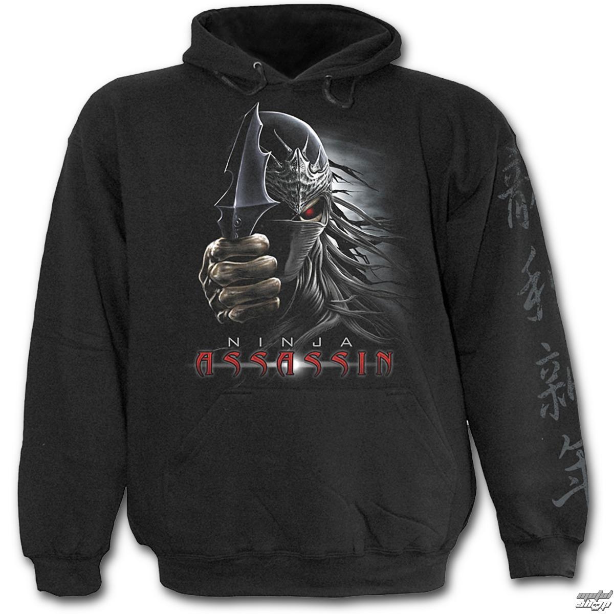 mikina dětská SPIRAL- Ninja Assassin - Black - T075K301