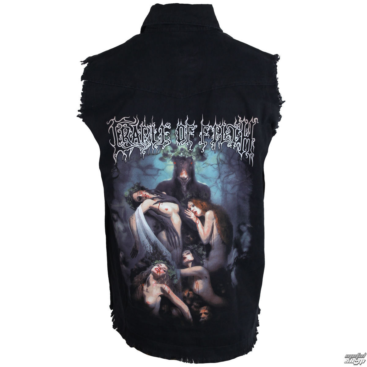vesta pánská Cradle Of Filth - Hammer Of The Witches - RAZAMATAZ - WS083