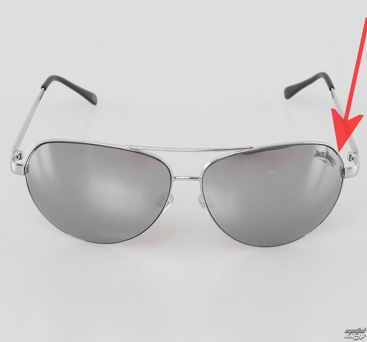 sluneční brýle Jack Daniels - BIOWORLD - JD2019 - POŠKOZENÉ - N048