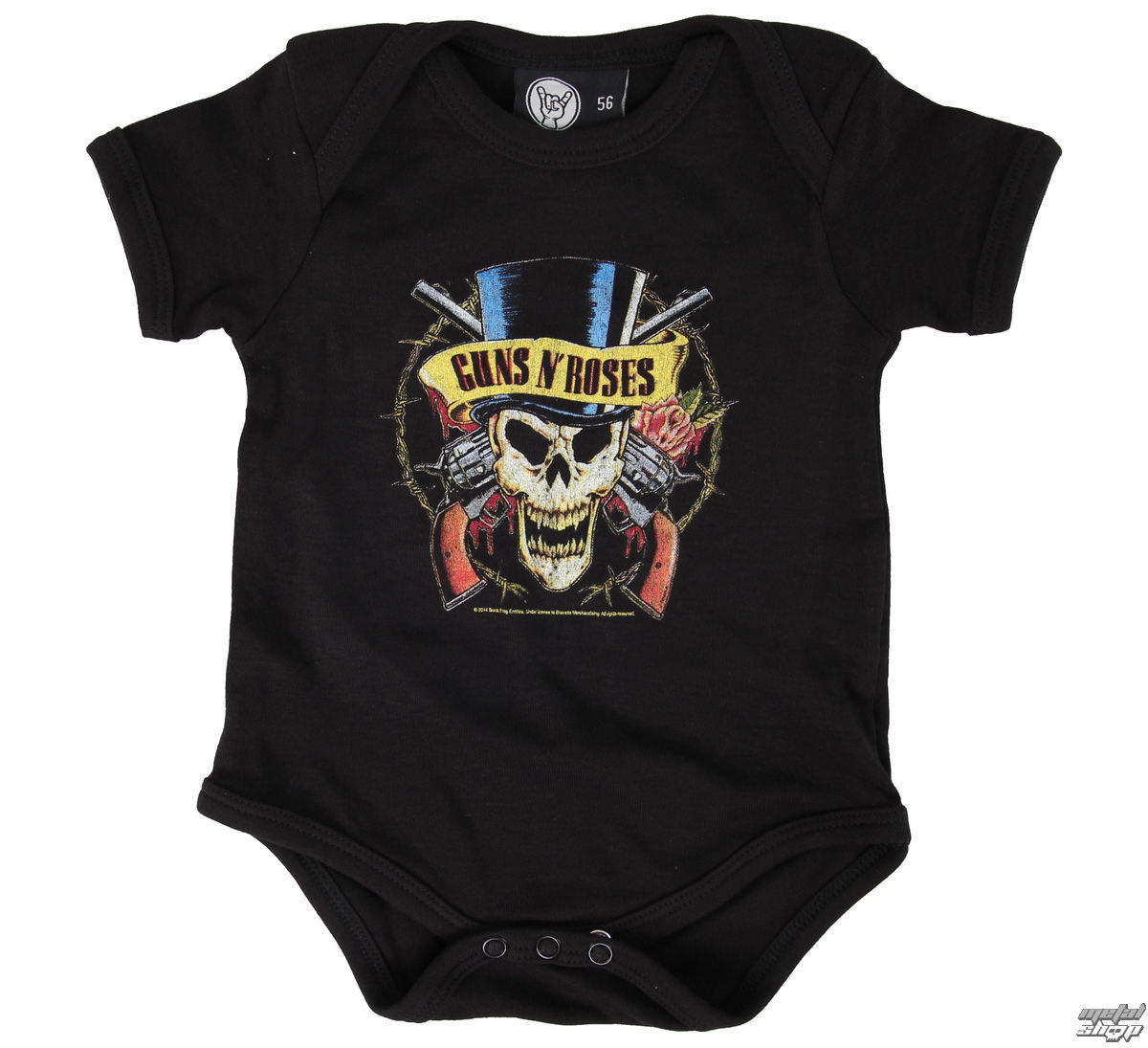 body dětské Guns n Roses - Top Hat - Black - Metal-Kids - MK28