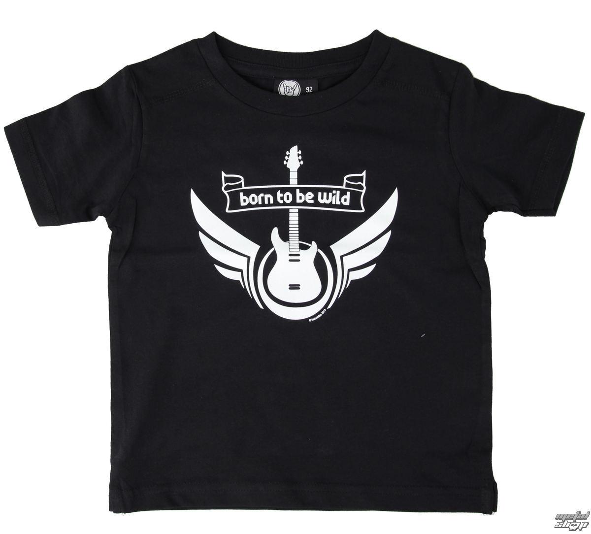 tričko dětské Metal-Kids - Born To Be Wild - Black - MK12