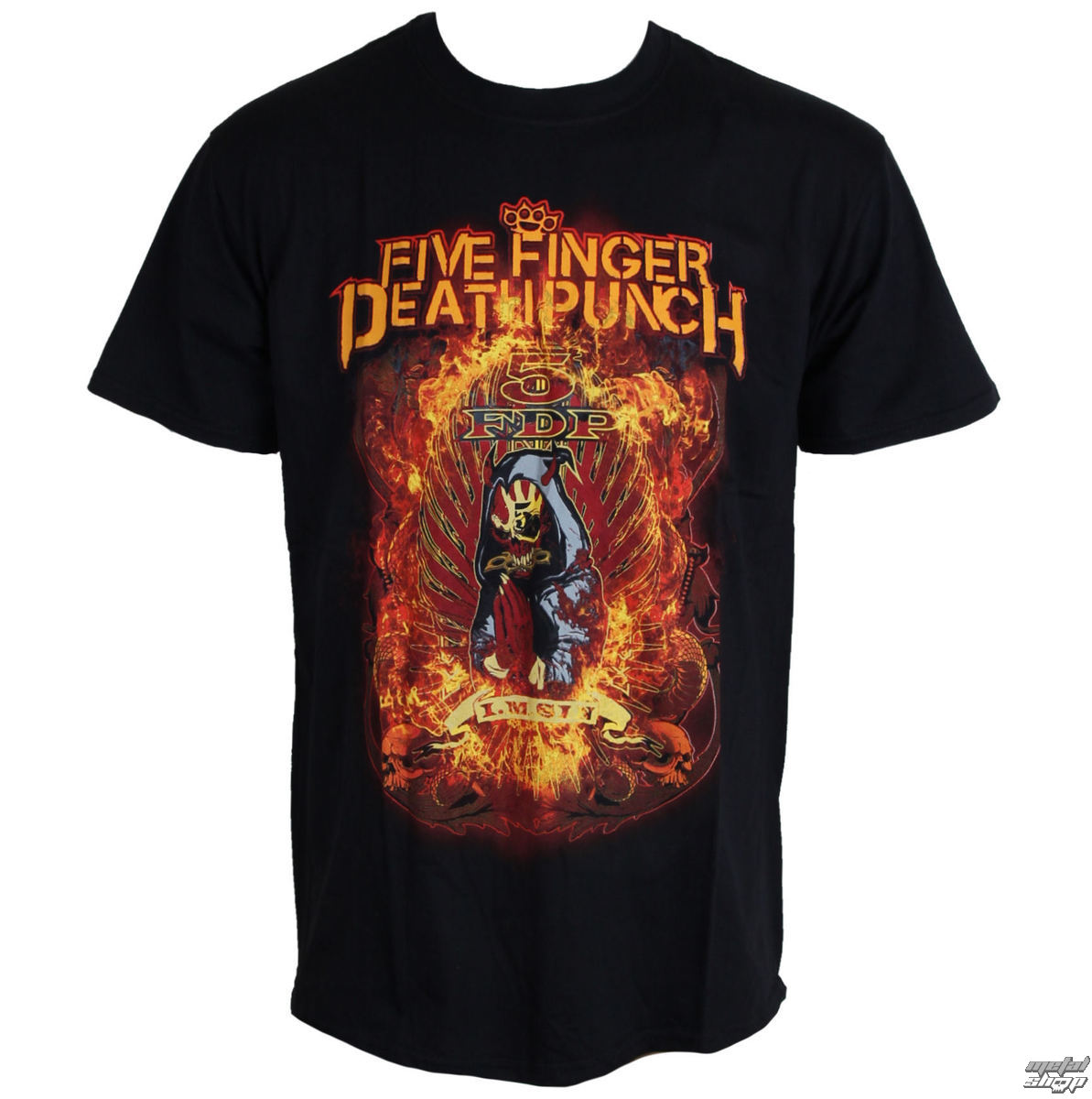 tričko pánské Five Finger Death Punch - Burn In Sin - ROCK OFF