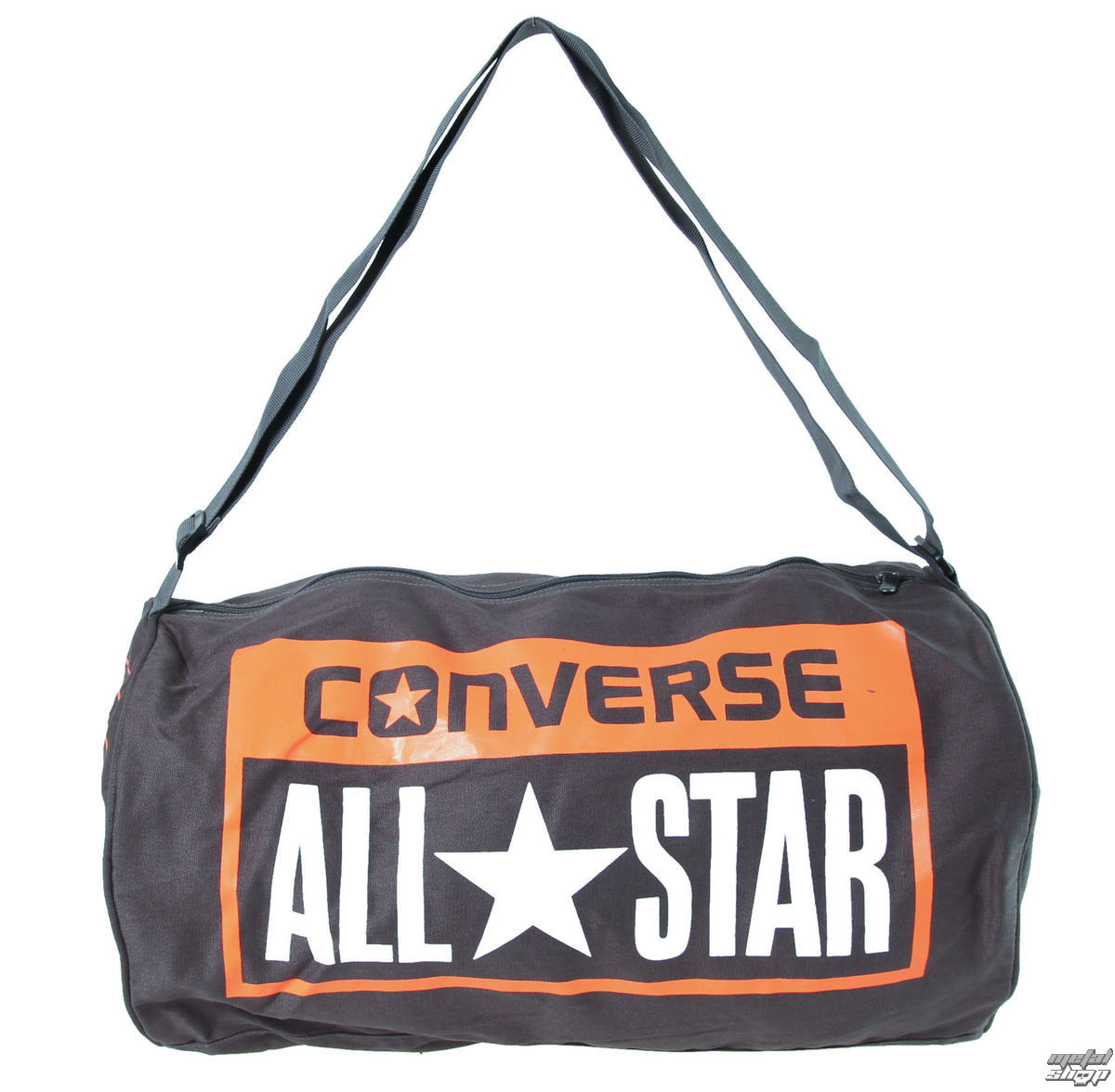 taška CONVERSE - Legacy Duffel - GREY/ORANGE - 410646-203