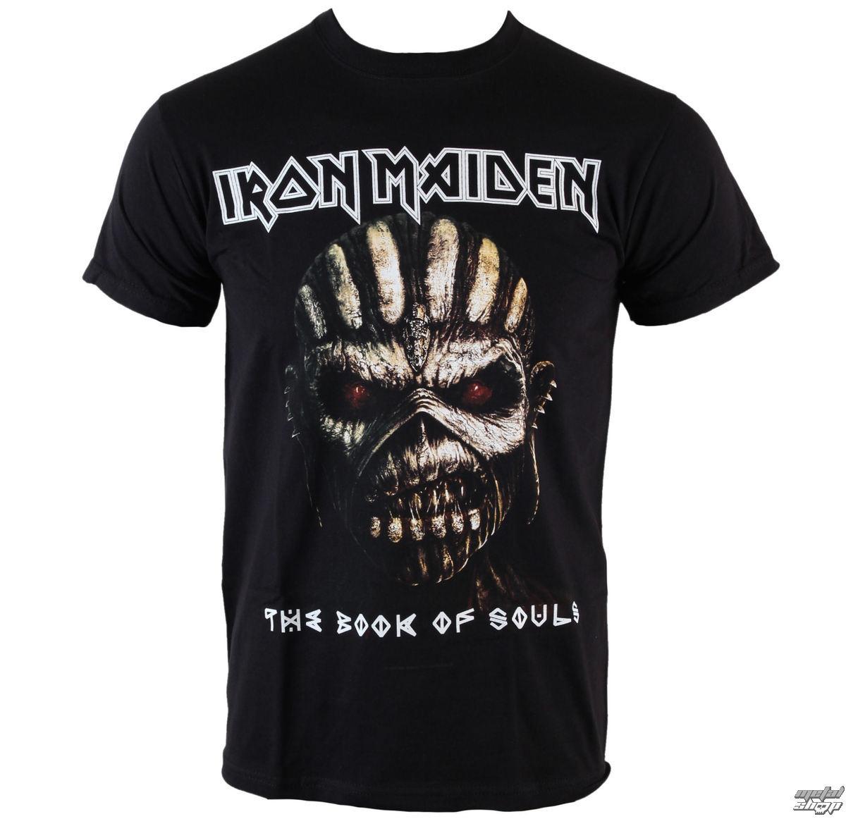 Triďż˝ko metal pďż˝nskďż˝ Iron Maiden - Book Of Souls - ROCK OFF - IMTEE44MB