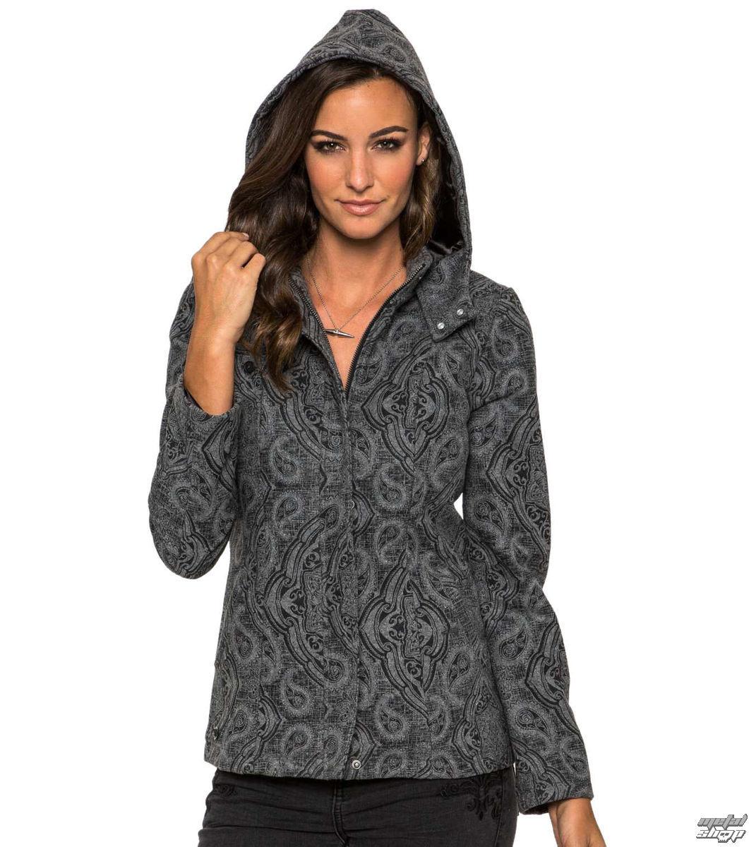 kabátek dámský jarně/podzimní METAL MULISHA - Madison - CHA
