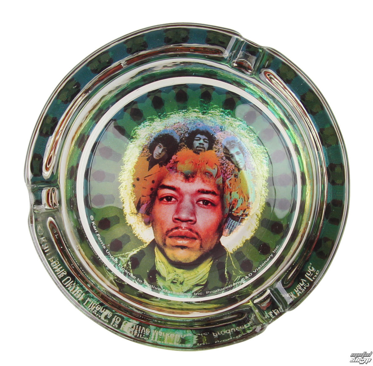 popelník Jimi Hendrix - Mastermind - AT-0194-G