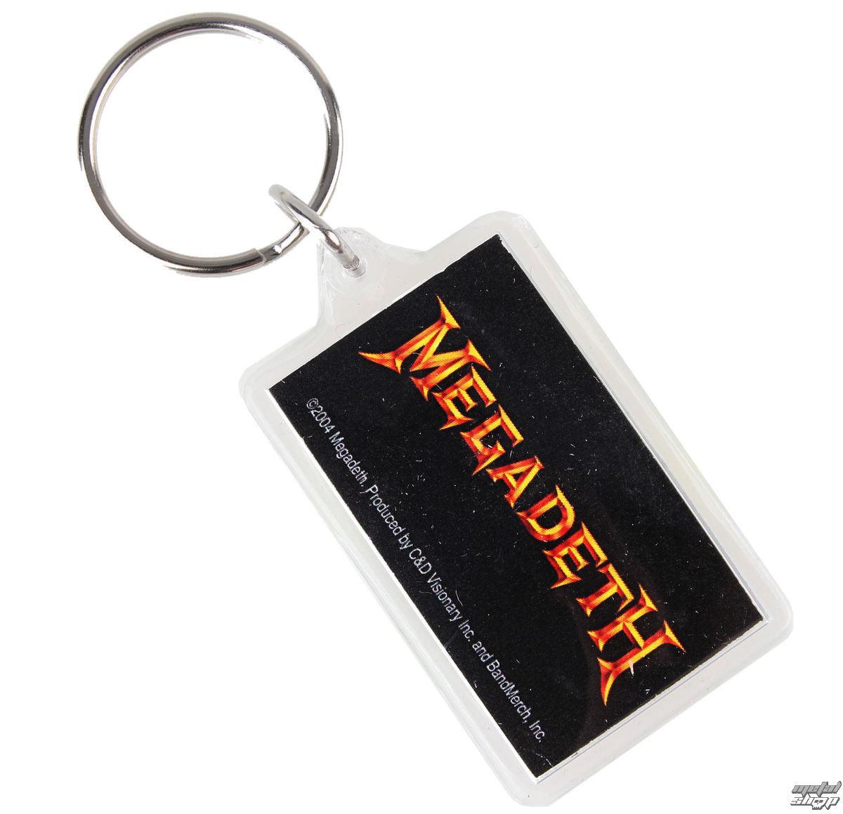 klíčenka (přívěšek) Megadeth - Logo - K-1037