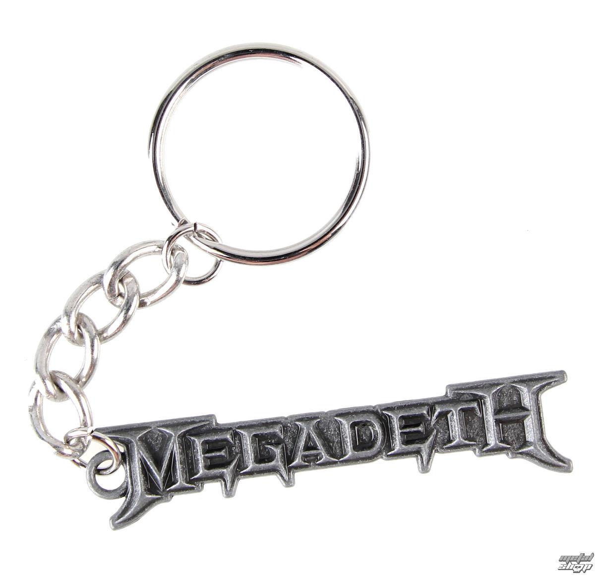 klíčenka (přívěšek) Megadeth - Logo - K-2450-E