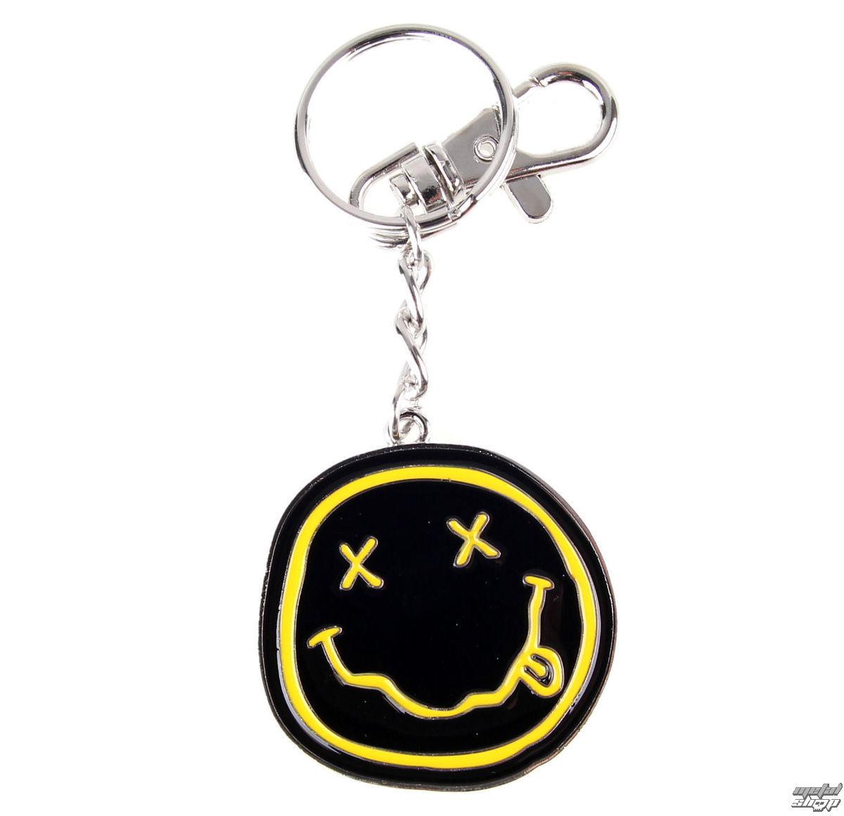 klíčenka (přívěšek) Nirvana - Smiley - K-2768-E