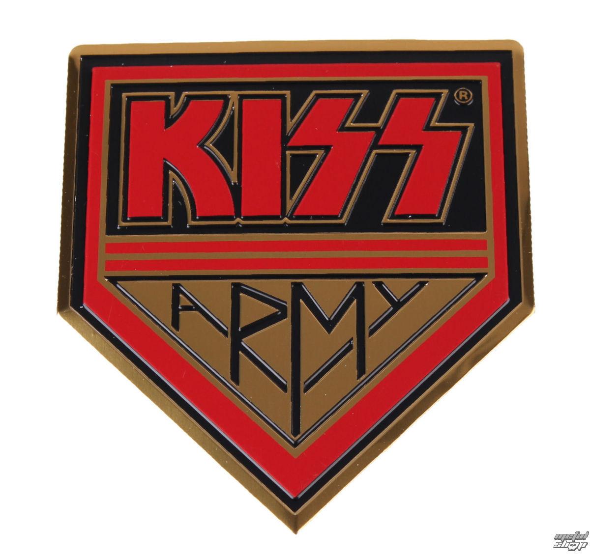 nálepka malá (kovová) Kiss - Army - S-7657-M
