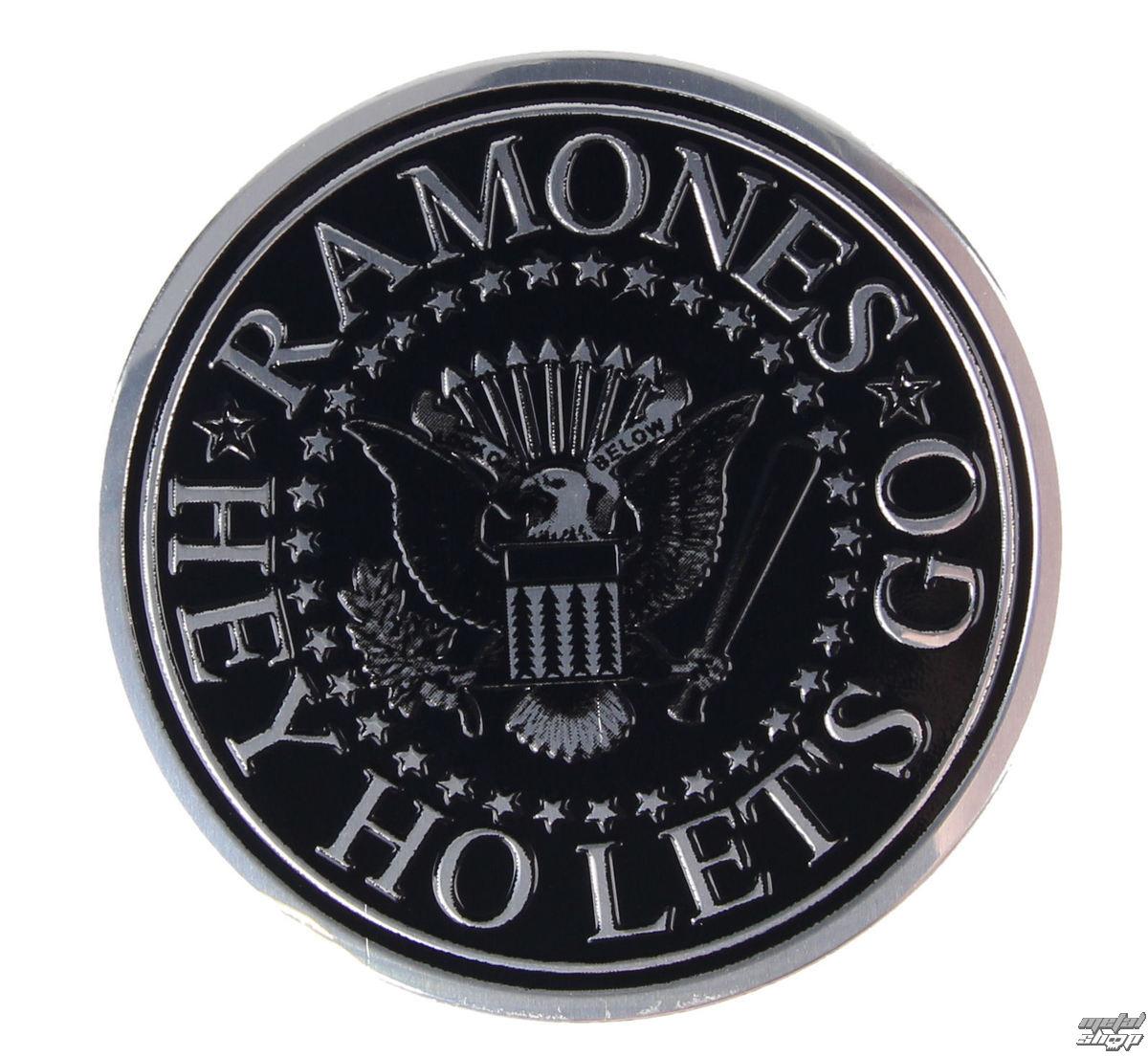 nálepka malá (kovová) Ramones - Seal - S-7765-M