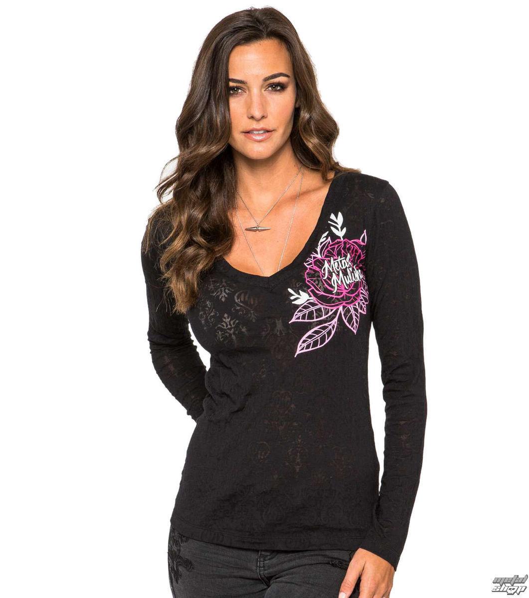 tričko dámské s dlouhým rukávem METAL MULISHA - Alternative - BLK
