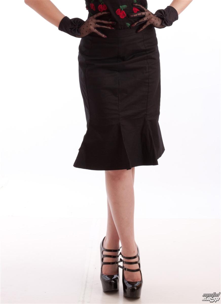 sukně dámská NECESSARY EVIL - Damara Retro Tulip - Black - N1185