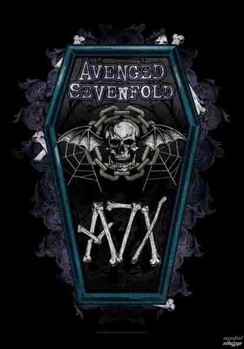 vlajka Avenged Sevenfold - Coffin - HFL1131
