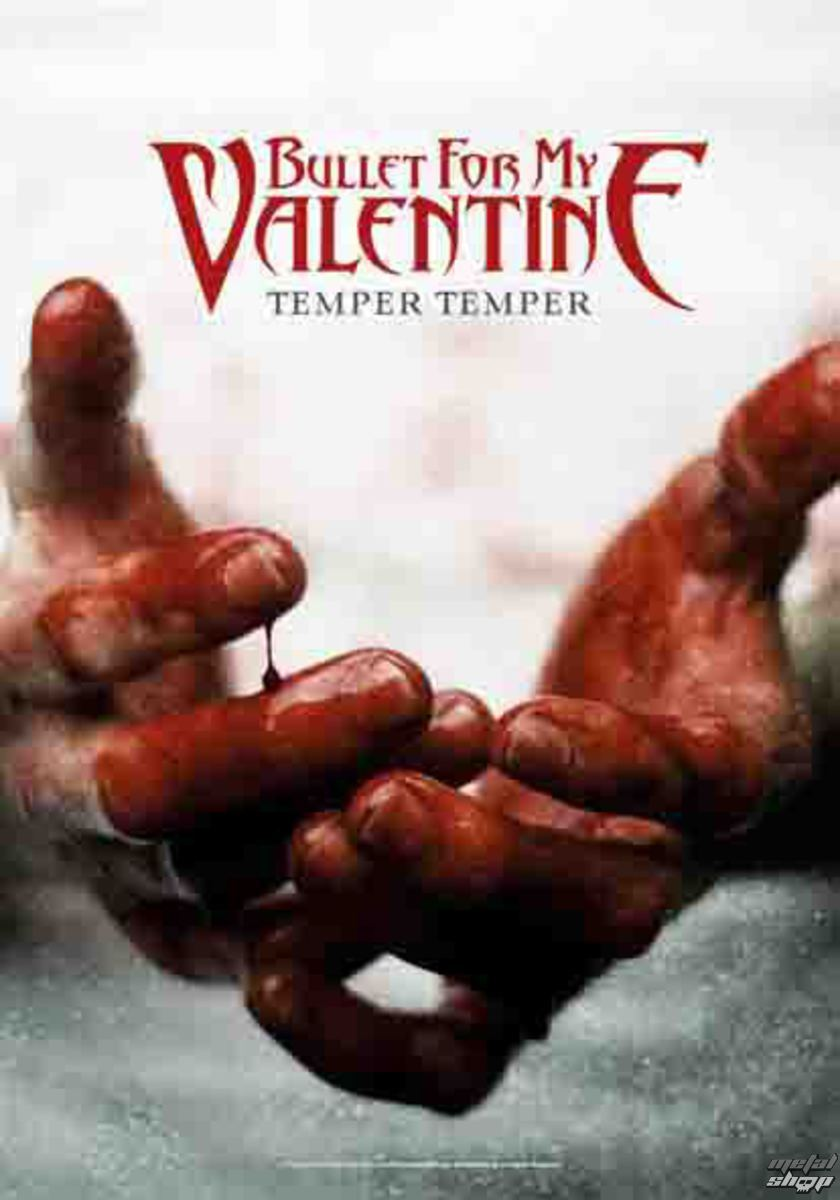HEART ROCK Bullet For my Valentine Temper Temper