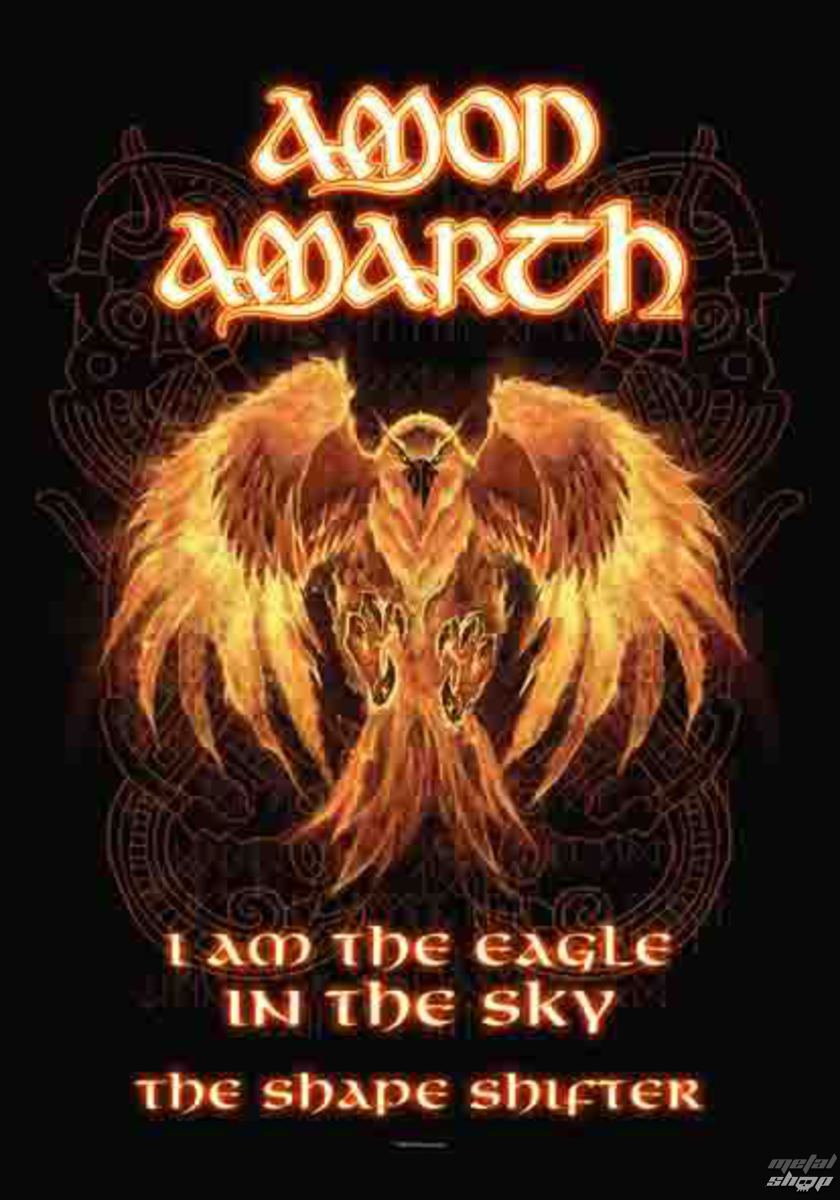 vlajka Amon Amarth - Burning Eagle - HFL1150