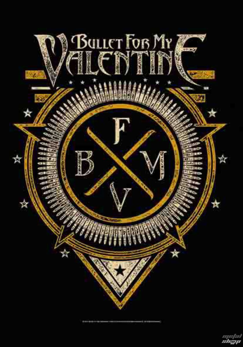 HEART ROCK Bullet For my Valentine Emblem
