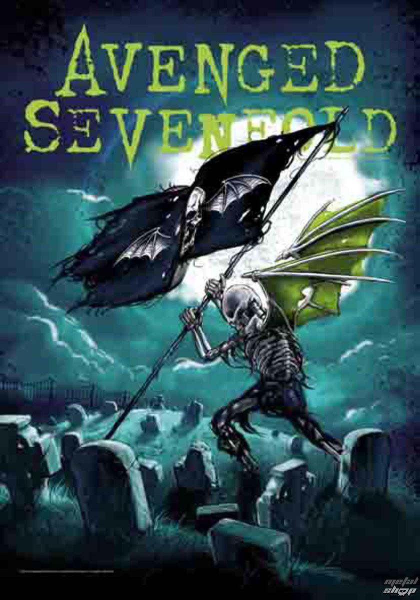 vlajka Avenged Sevenfold - Cemetary - HFL1141