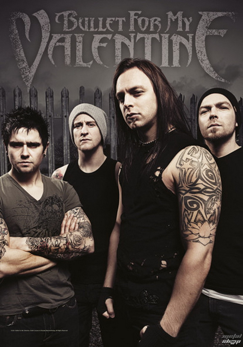 HEART ROCK Bullet For my Valentine Band Photo