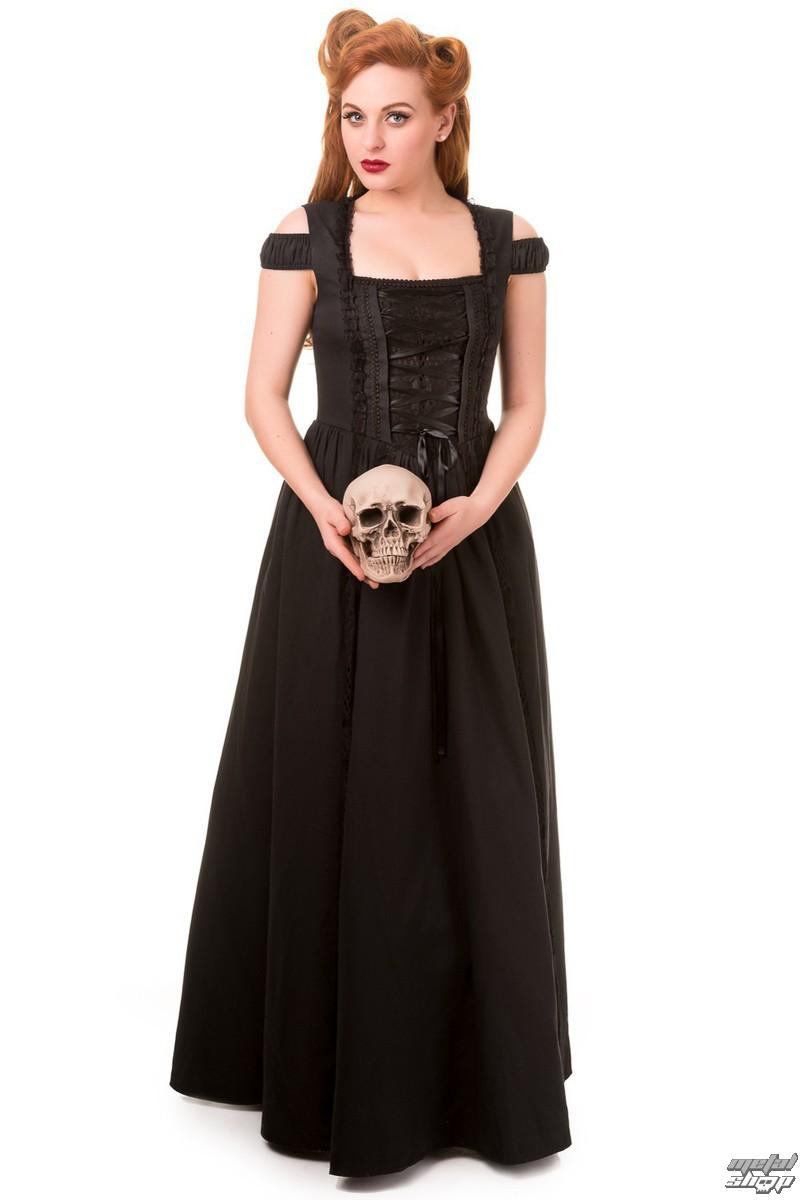 2fbcc014901 šaty dámské BANNED - Black - DBN5030 - metalshop.cz
