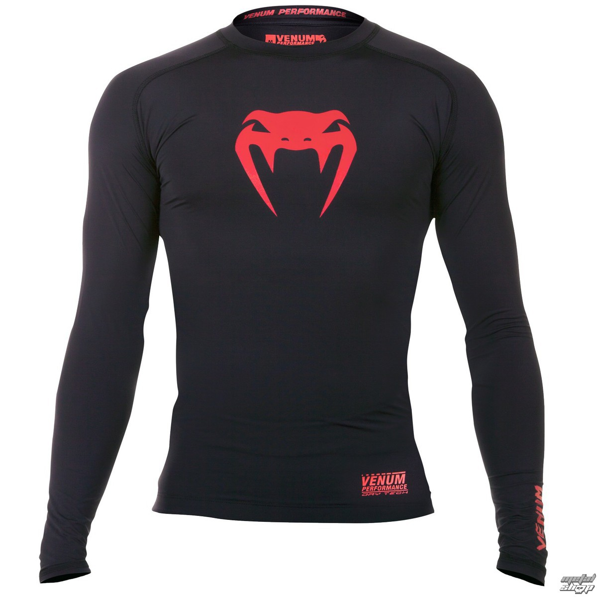 tričko pánské s dlouhým rukávem (termo) VENUM - Contender Compression - Red Devil - EU-VENUM-1161