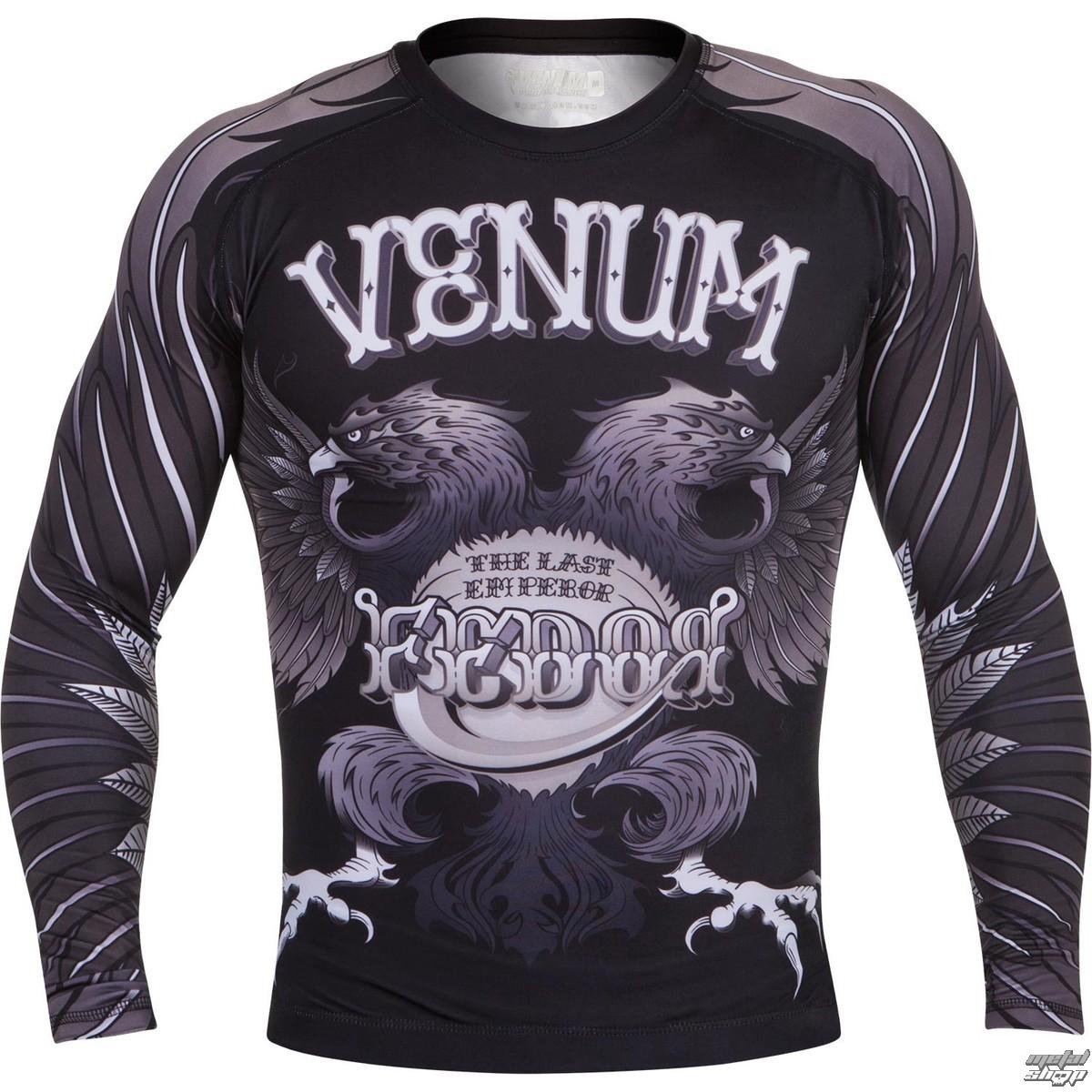 tričko pánské s dlouhým rukávem (termo) VENUM - Eagle Fedor Rashguard - Black - 1335