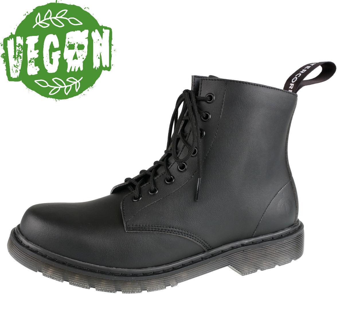 6b1d84963f1 boty 8 dírkové ALTERCORE - Vegetarian - Black - 651 - metalshop.cz