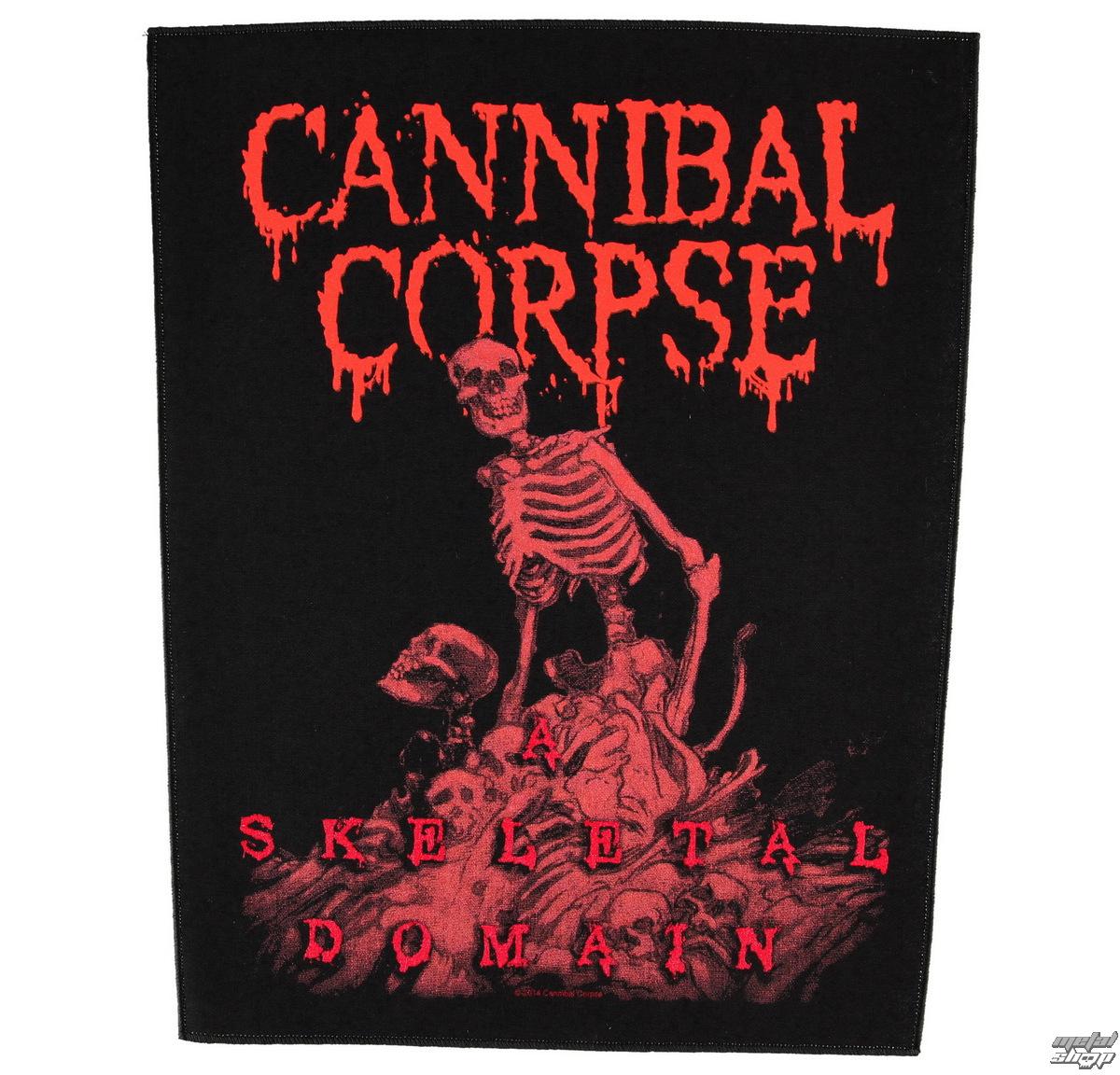 nášivka velká Cannibal Corpse - A Skeletal Domain - RAZAMATAZ - BP0972