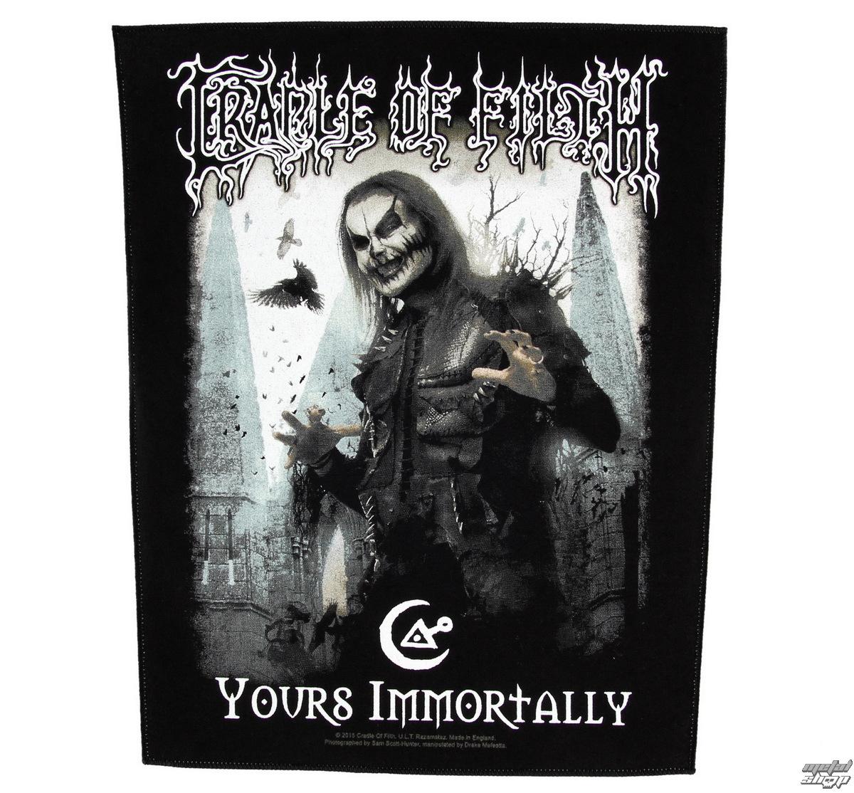 nášivka velká Cradle of Filth - Yours Immortally - RAZAMATAZ - BP1006