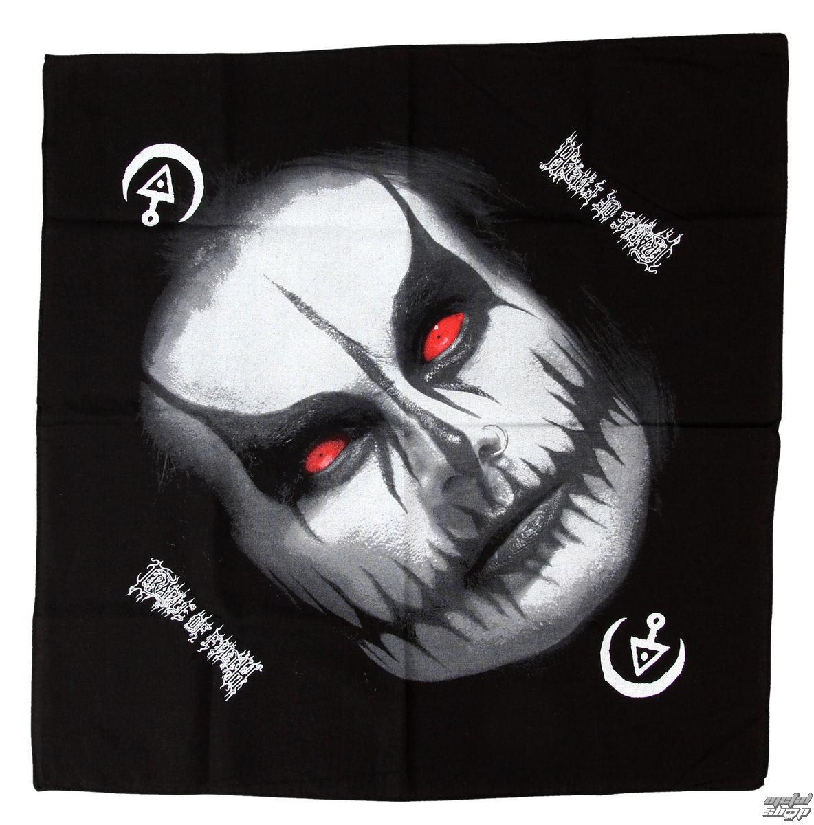 šátek Cradle of Filth - Dani Filth - RAZAMATAZ - B046