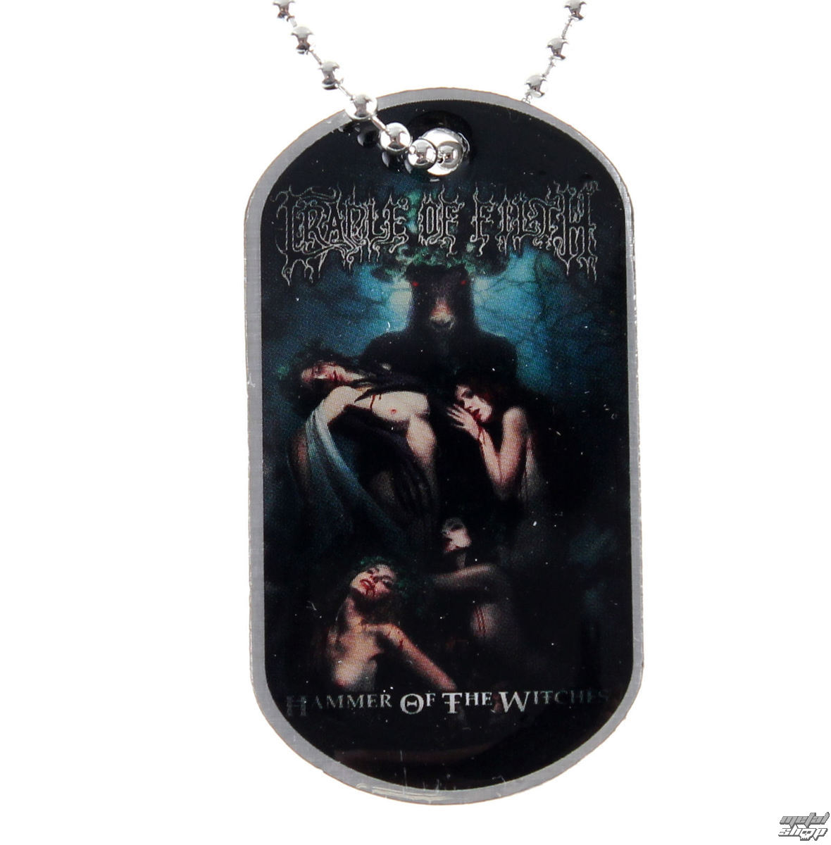 obojek (psí známka) Cradle of Filth - Hammer Of The Witches - RAZAMATAZ - DT065