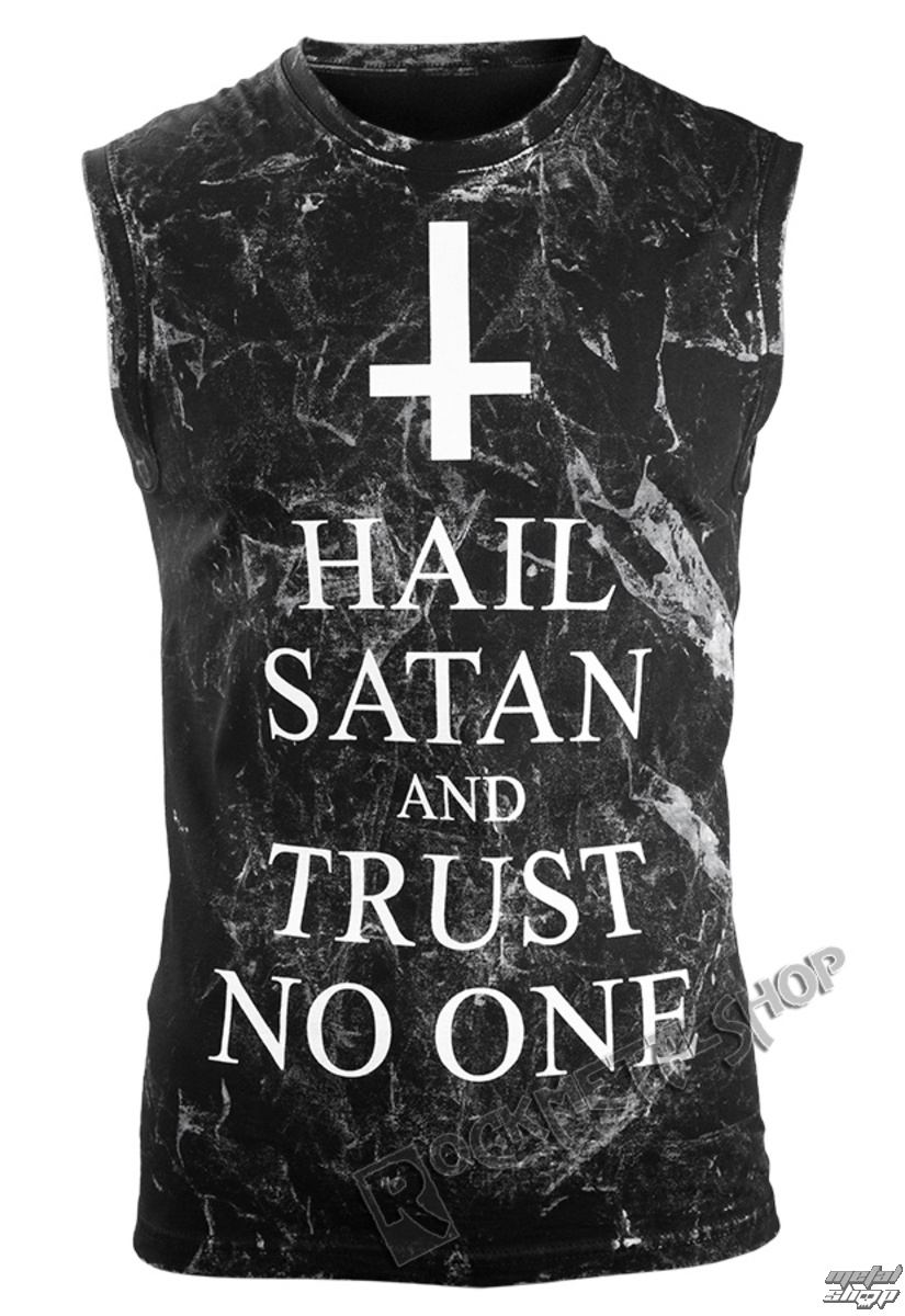tílko AMENOMEN HAIL SATAN AND TRUST NO ONE S