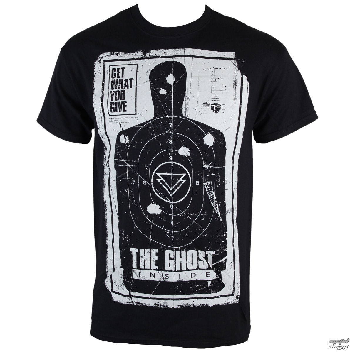 tričko pánské The Ghost Inside - Drive By - Black - KINGS ROAD - 47098