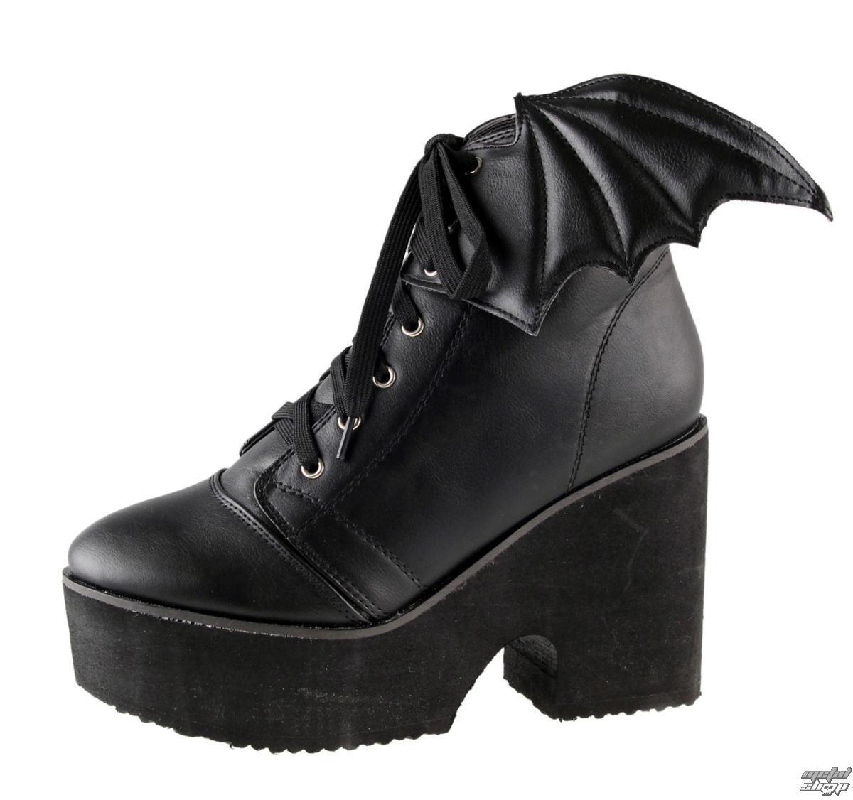 boty dámské IRON FIST - Bat Wing - Black - 70751IFLLIC-Black Black ... b6b970ec81