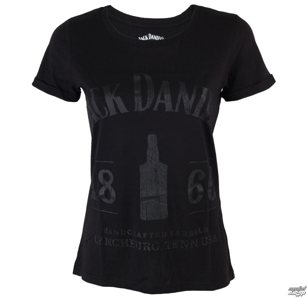 tričko dámské Jack Daniels - 1866 - Black - TS530609JDS