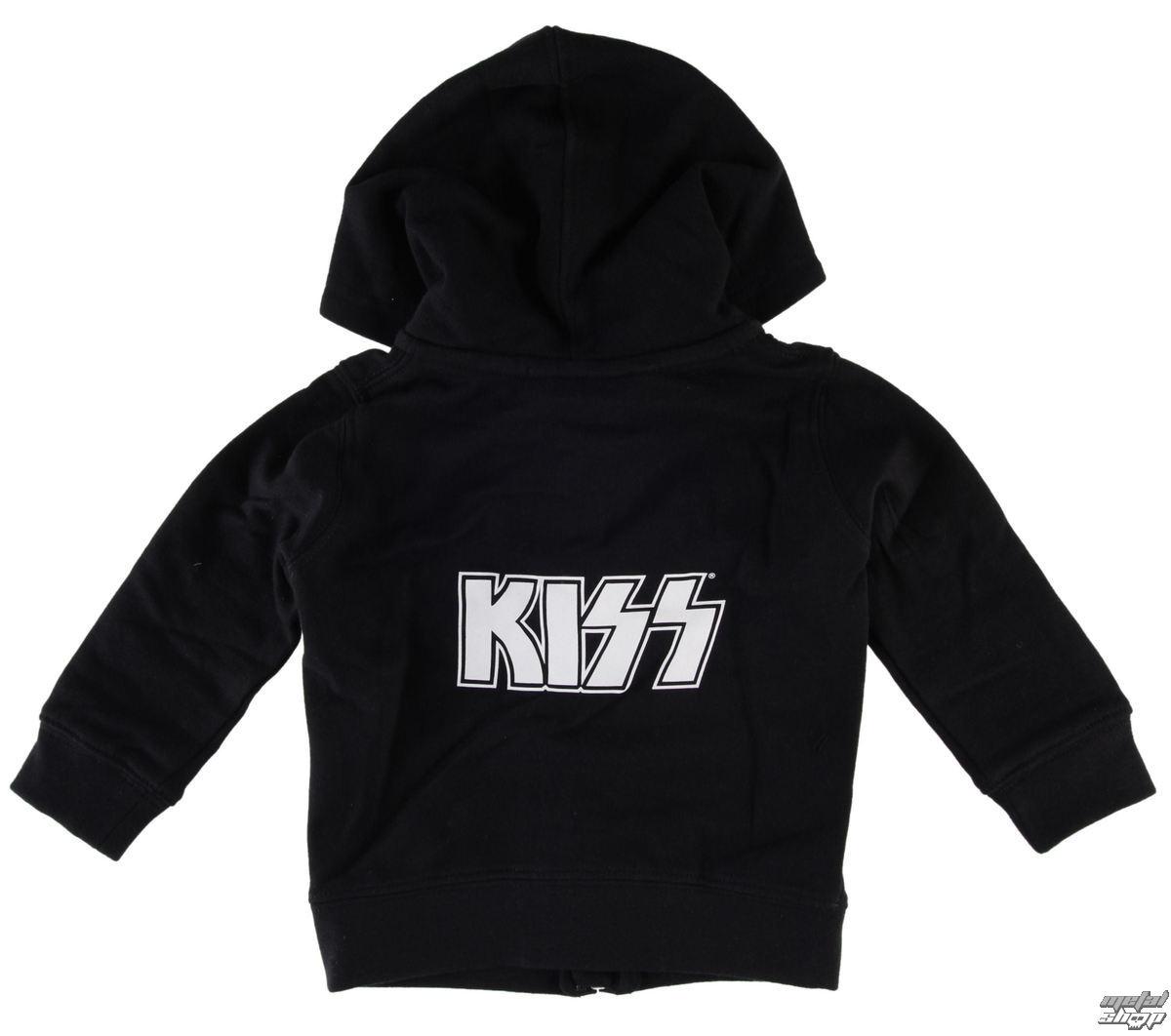 mikina dětská Kiss - Logo - Metal-Kids - MK212
