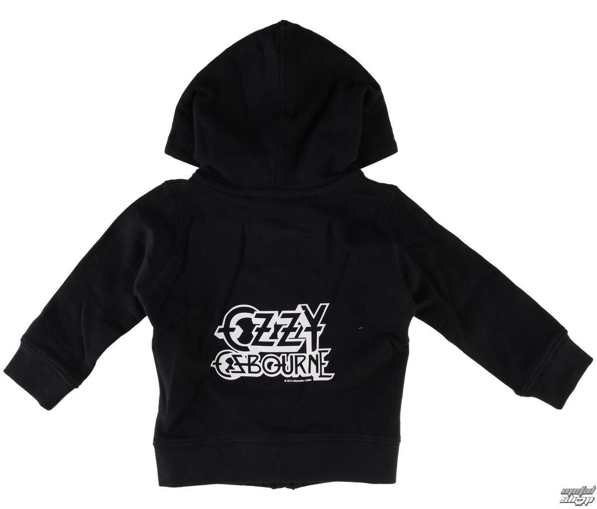 mikina dětská Ozzy Osbourne - Logo - Metal-Kids - MK227