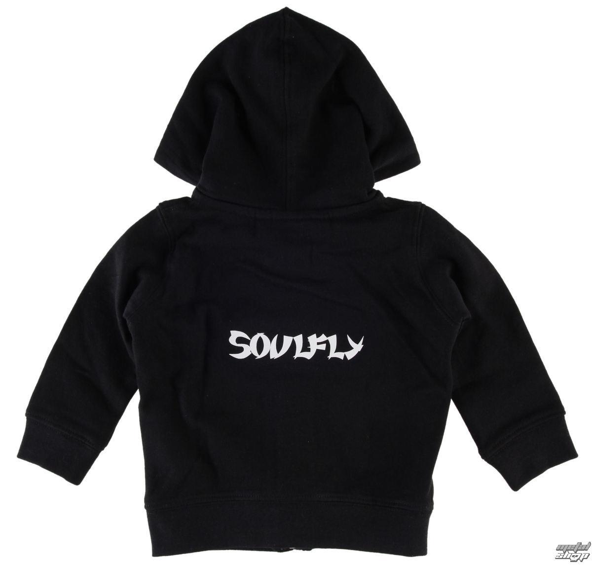 mikina dětská Soulfly - Logo - Metal-Kids - MK201