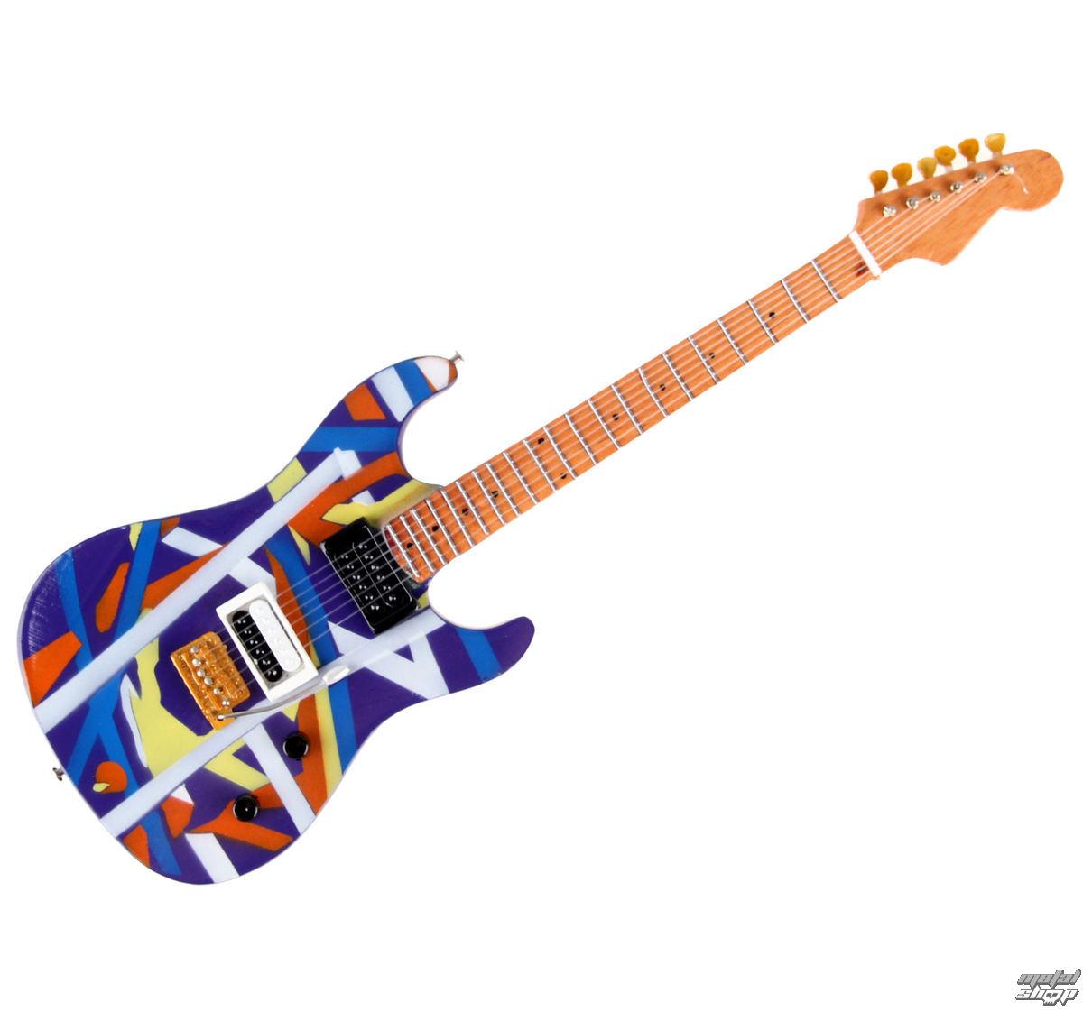 kytara Van Halen - Eddie Van Halen - Blue/Yellow - MGT-5609