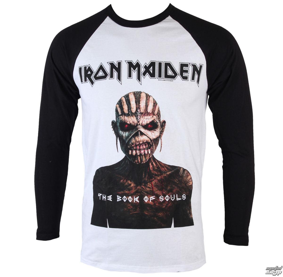 Triďż˝ko metal pďż˝nskďż˝ Iron Maiden - Book Of Souls - ROCK OFF - IMRL05MW