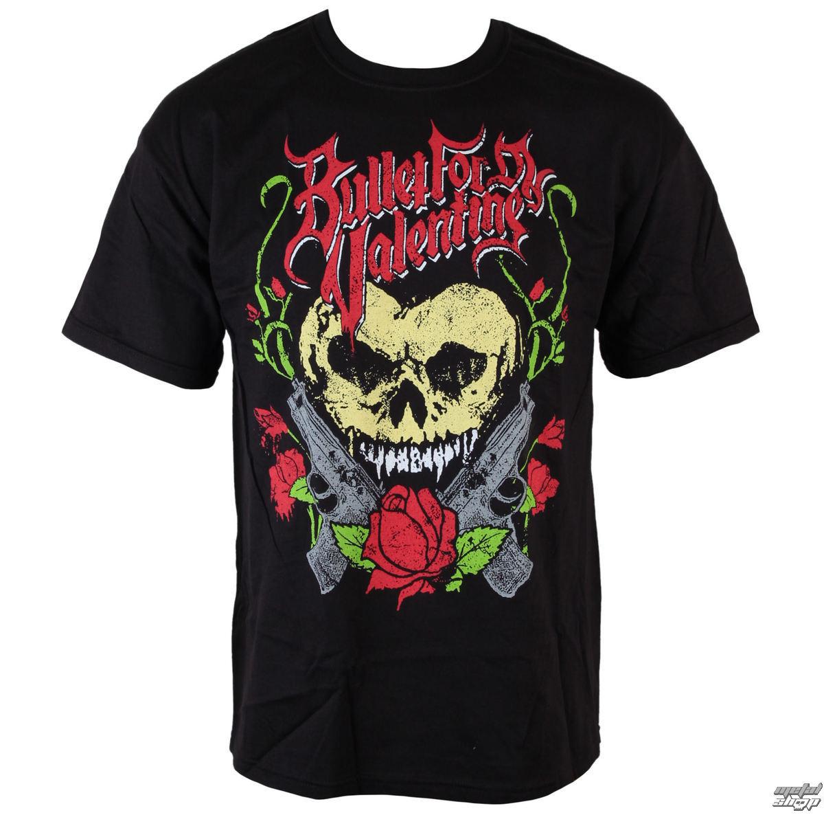 tričko pánské Bullet For my Valentine - Heart Skull - BRAVADO - BFV1015