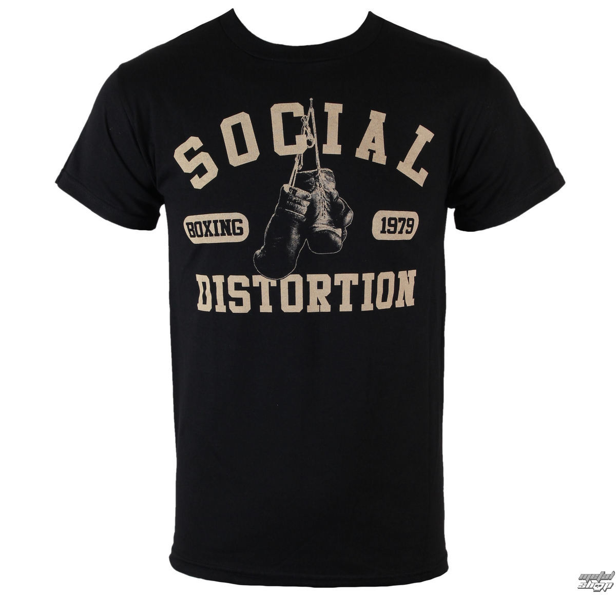 BRAVADO Social Distortion Boxing Gloves černá